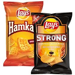 Lay's strong, Cheetos of Hamka's