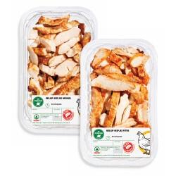 SPAR gegaarde kipfilet reepjes naturel of pittig