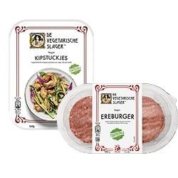 De Vegetarische Slager maaltijd vleesvervangers