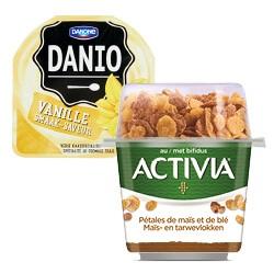 Danio of Activia kuipje