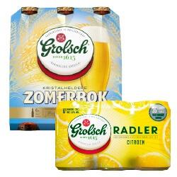 Grolsch zomerbier of Radler