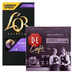 Douwe Egberts, L'OR of D.E. Café capsules