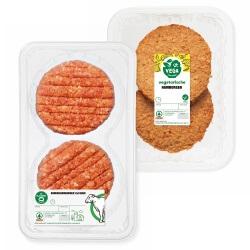 SPAR runderhamburger of vegetarische hamburger