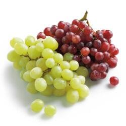 pitloze witte of blauwe druiven