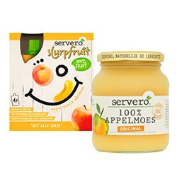Servero appelmoes of knijpfruit