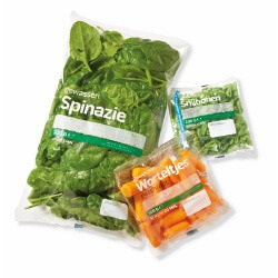 snijbonen, spinazie of worteltjes