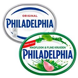 Philadelphia naturel, kruiden of bieslook