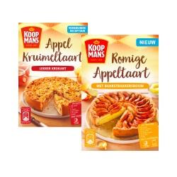 Koopmans mix voor appeltaart of boeren- of fijne cake