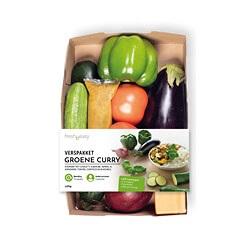 verspakket groene curry