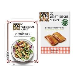 Vegetarische Slager maaltijdvervangers of diepvries snacks