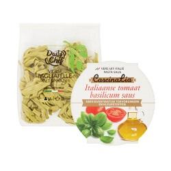 Daily Chef verse pasta of pasta sauzen