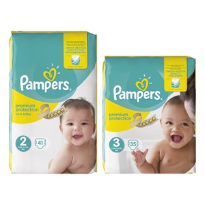 Pampers new baby luiers