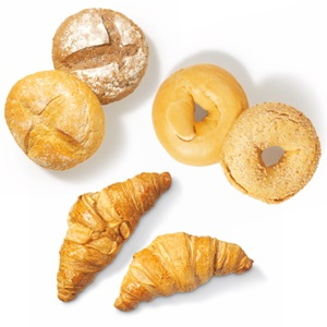 SPAR croissantjes, bagels of sparretjes