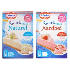 Dr oetker mix voor kwark-, verwen taart of wolken cake
