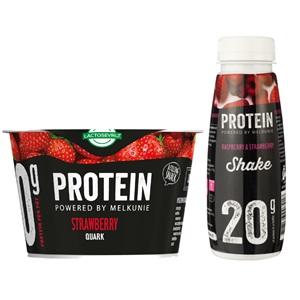 Melkunie protein kwark of shake