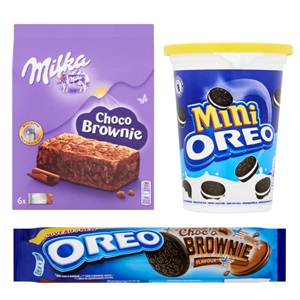 Oreo of Milka biscuits