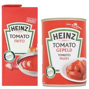 Heinz basis tomatenproducten