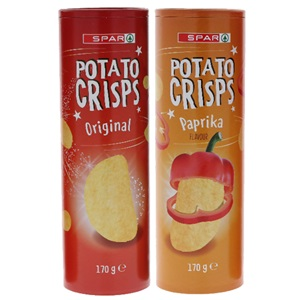 SPAR potato crisps