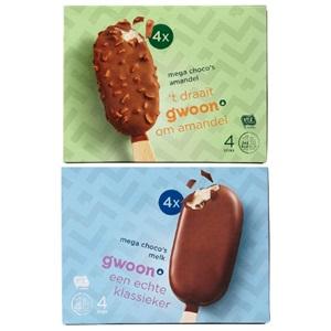 g'woon mega of mini choco's
