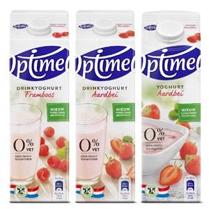 Optimel yoghurt, vla of drinkyoghurt