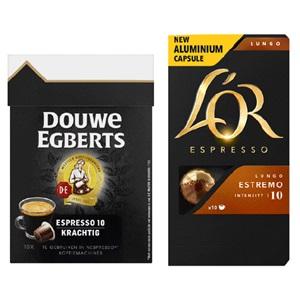 Douwe Egberts en L'Or capsules