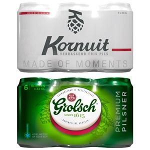 Grolsch of Kornuit pils