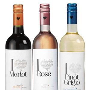 I Heart Merlot, Pinot Grigio of Rosé