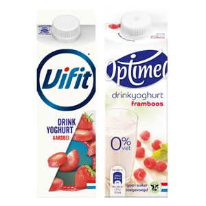 Vifit, Optimel of Goedemorgen! drinkyoghurt