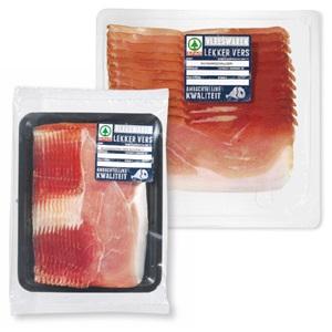 SPAR Schwarzwalder schinken, Coburger ham of rauwe ham