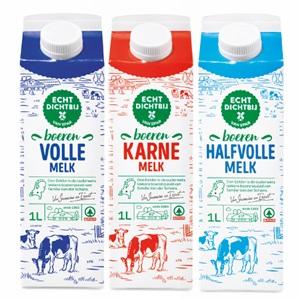 SPAR echt dichtbij boeren karnemelk, volle- of halfvolle melk