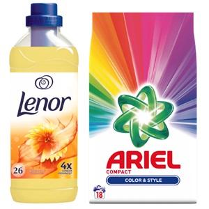Ariel of Lenor wasmiddel of wasverzachter