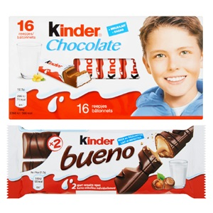 Kinder chocolade of Maxi