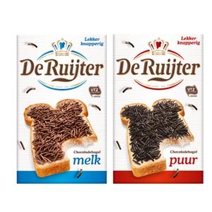 De Ruijter of Venz chocoladebroodbeleg