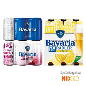 Bavaria pils, 0.0 of radler