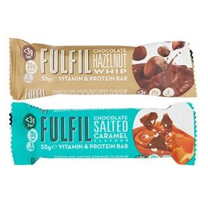 Fulfil single hazelnut whip of salted caramel