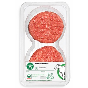 SPAR runderhamburgers