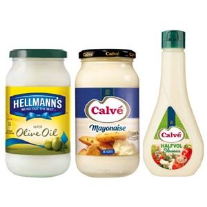 Calvé of Hellmann's mayonaise en sauzen