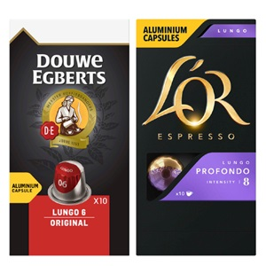 Douwe Egberts of L'Or capsules