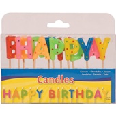 Folat taartkaarsjes happy birthday voorkant