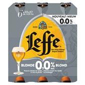 Leffe blond 0.0% voorkant