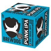BrewDog bier punk ipa voorkant