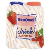 Bonomel aardbei drink  4-pack voorkant