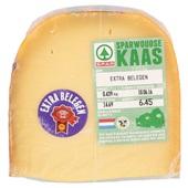 Sparwoudse kaas stuk extra Belegen 48+ voorkant