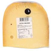 Sparwoudse kaas stuk extra Belegen 48+ achterkant