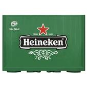 Heineken Pils Krat 18x50 cl voorkant
