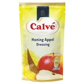 Calvé Vinigar Honing Appel voorkant