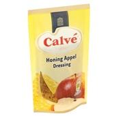 Calvé Vinigar Honing Appel achterkant