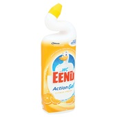 Wc-Eend action gel citrus fresh  achterkant