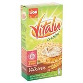 Vitalu Crackers Volkoren achterkant