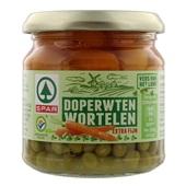 Spar Doperwten/Wortelen Extra Fijn voorkant